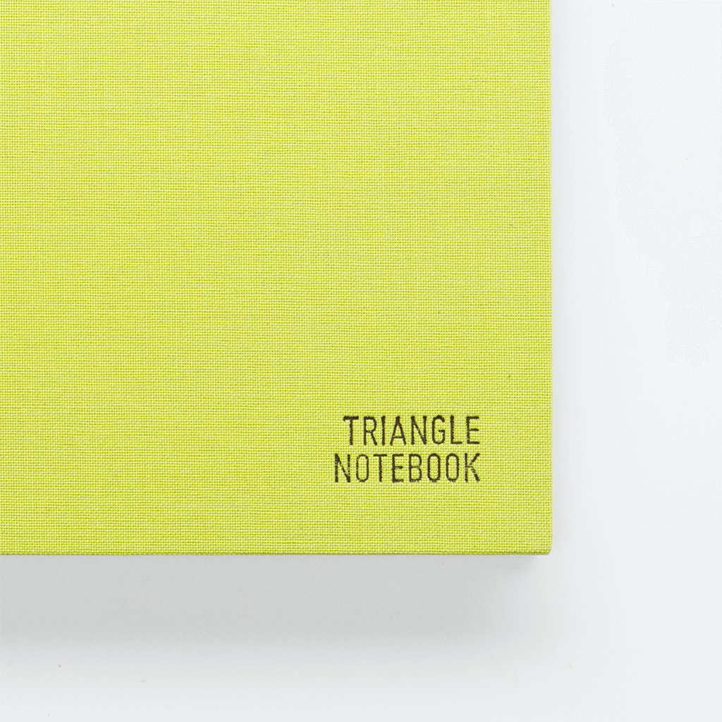 Triangle Notebook - Green