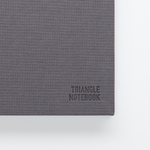 Triangle Notebook Grey - Creative Notebook