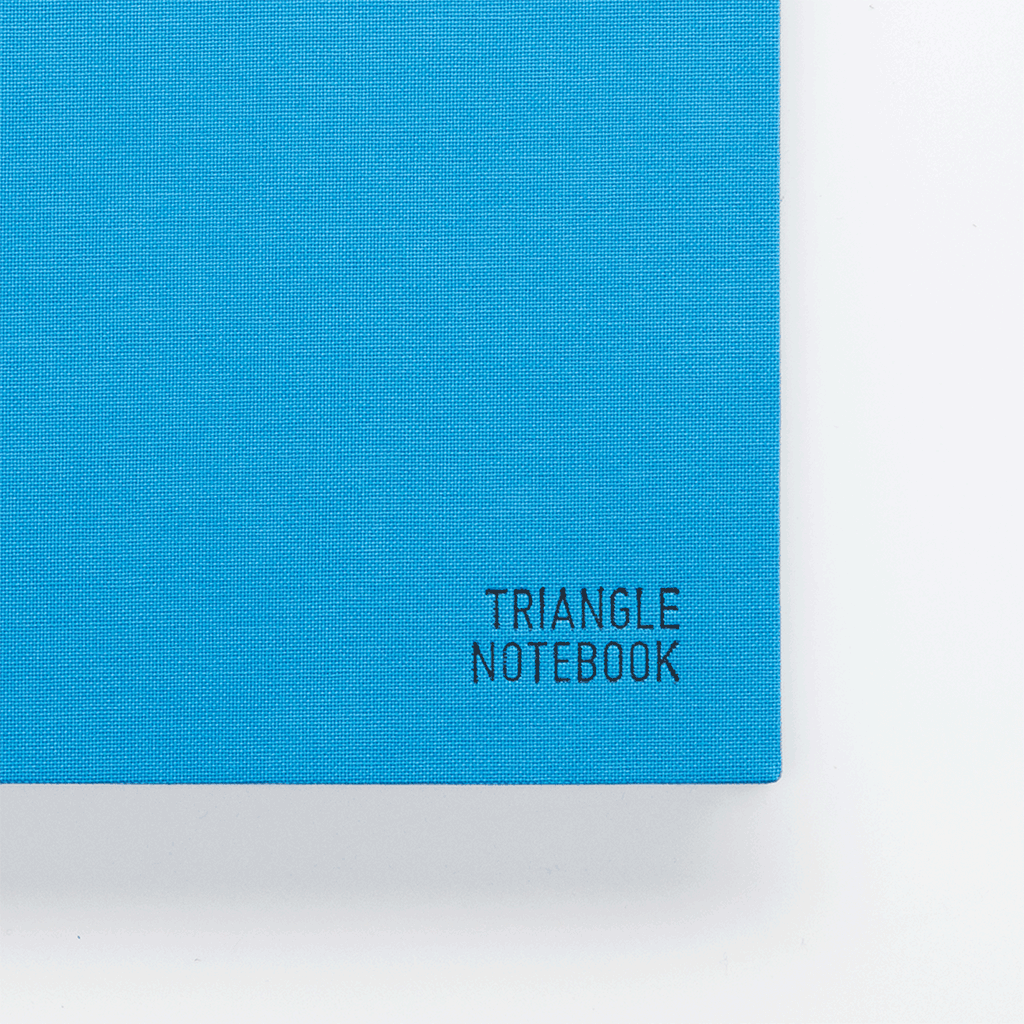Triangle Notebook - Blue