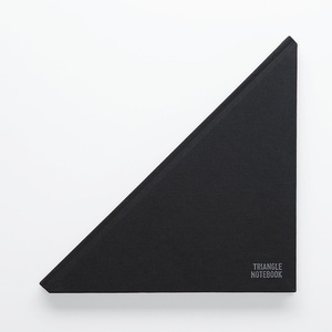 Triangle Notebook - Black