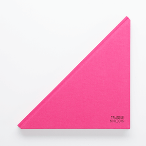 Triangle Notebook Pink - Creative Notebook