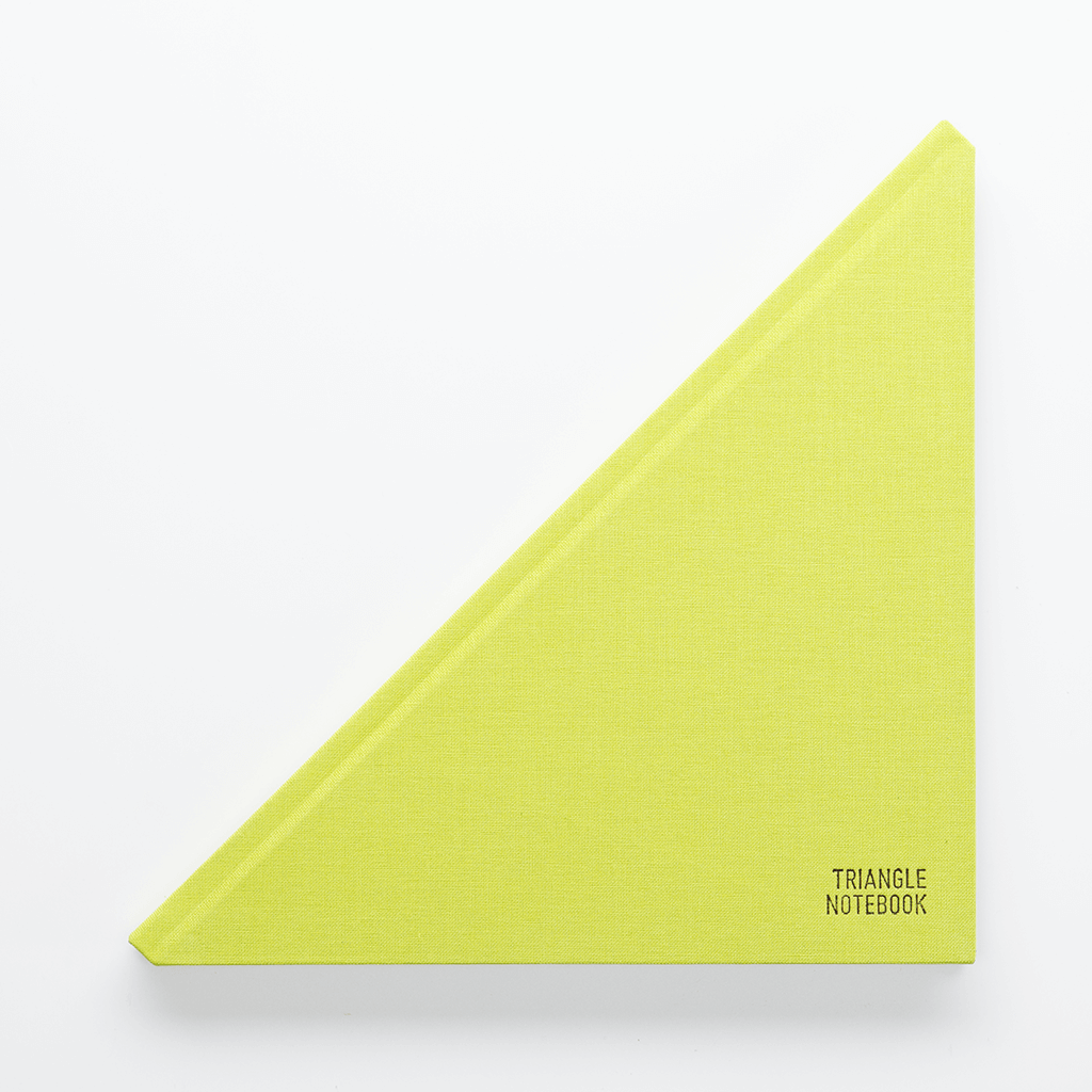 Triangle Notebook Green - Creative Notebook