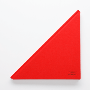 Triangle Notebook Red - Creative Notebook