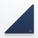 Triangle Notebook Navy Blue - Creative Notebook