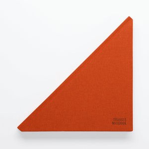 Triangle Notebook Dark Amber - Creative Notebook