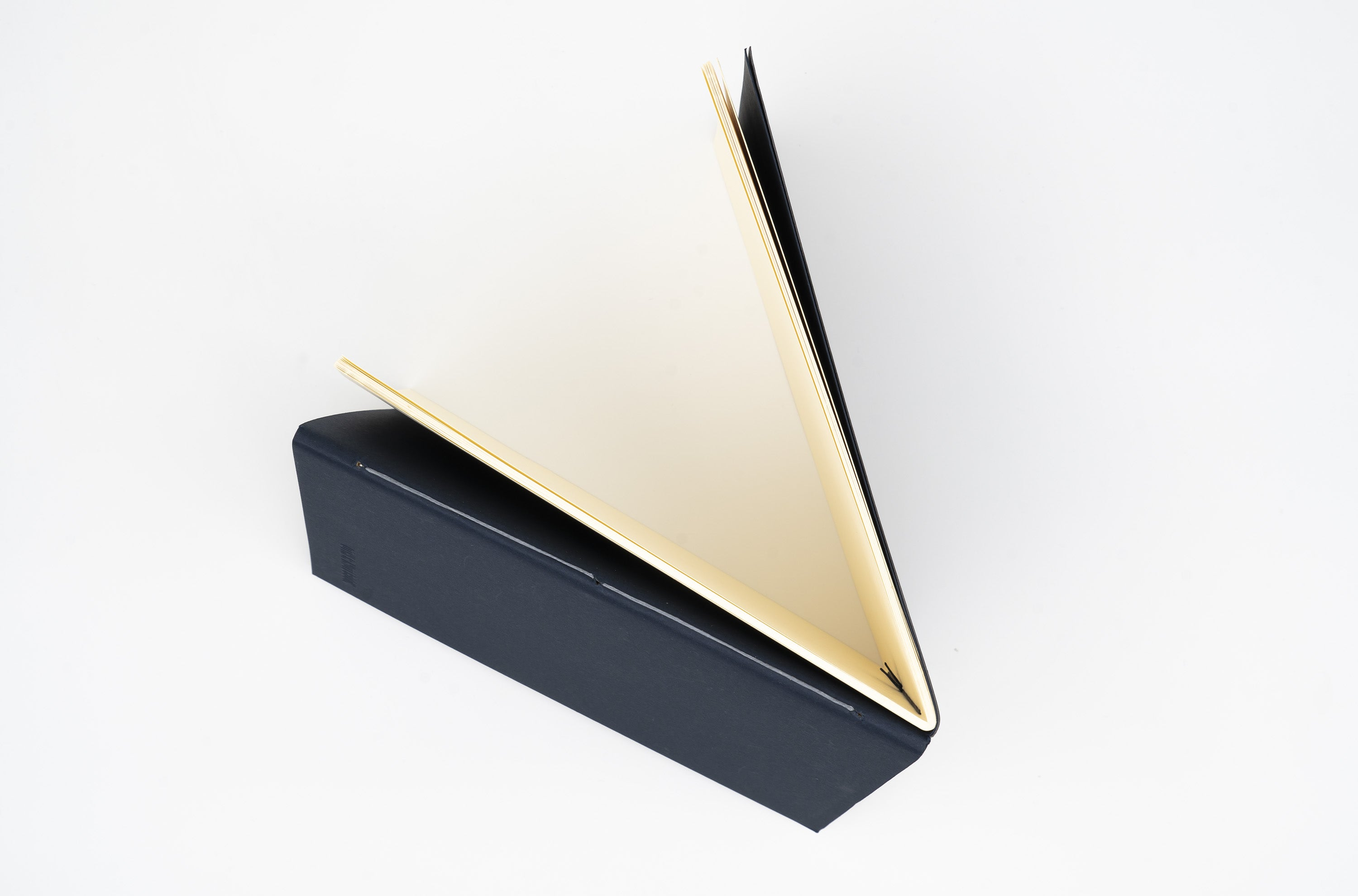 Double Sided Notebook - L Type - Dark Navy Blue § Gray