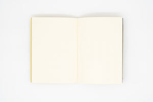 Double Sided Notebook - S Type - Warm Yellow § Light Gray