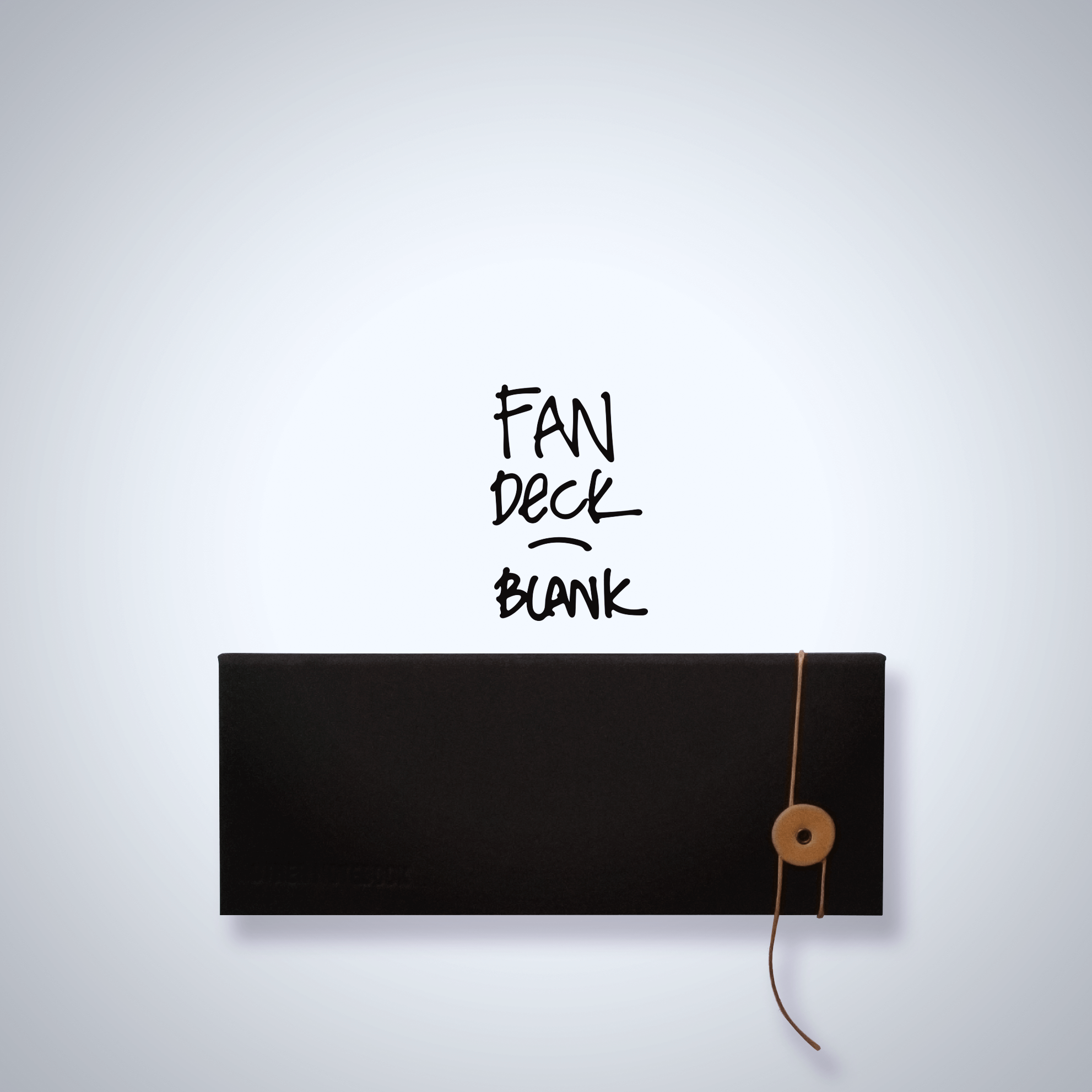 Fan Deck - Blank - Black