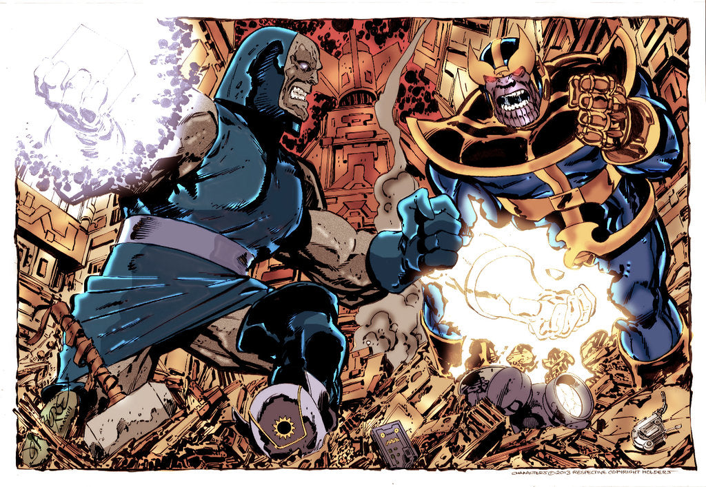 Who is more intimidating Thanos or Darkseid?