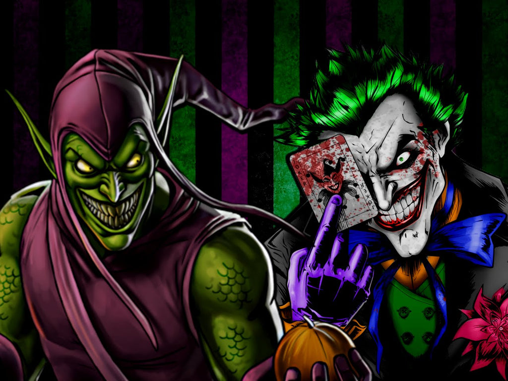 Who is more sane the Joker Or Green Goblin?!?