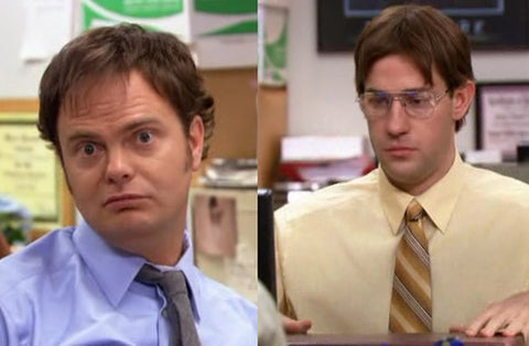 Dwight as Jim and Jim as Dwight The Office