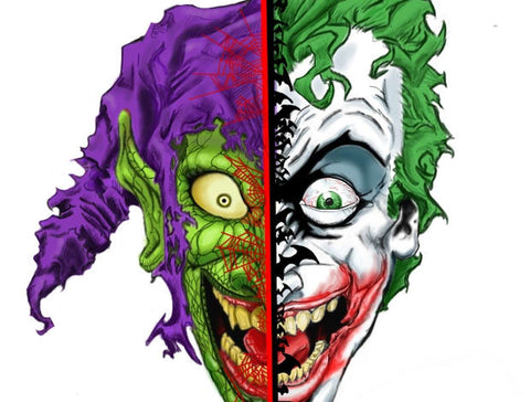Faceoff Joker and Green Goblin