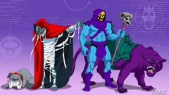 MumRa and Skeletor Team Up