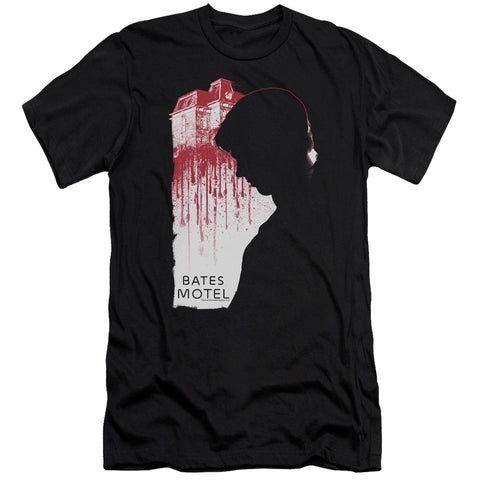 Bates Motel - Criminal Profile Premium Canvas Adult Slim Fit