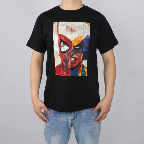 Spiderman Wolverine Face-off Tee