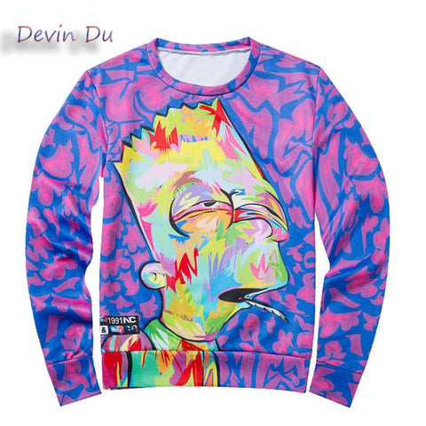 Bart of Art Simpson Sweatshirt