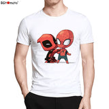Spiderman and Deadpool Funny Tee Exclusive
