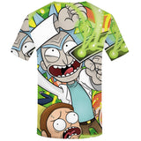 Rick And Morty 3d Anime T-Shirts