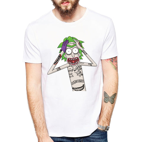 Rick and Morty The Joker Crossover Tee