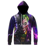 The Joker Hoodie Purple/Black