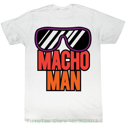 Randy Savage Wrestling T-shirt Macho Man