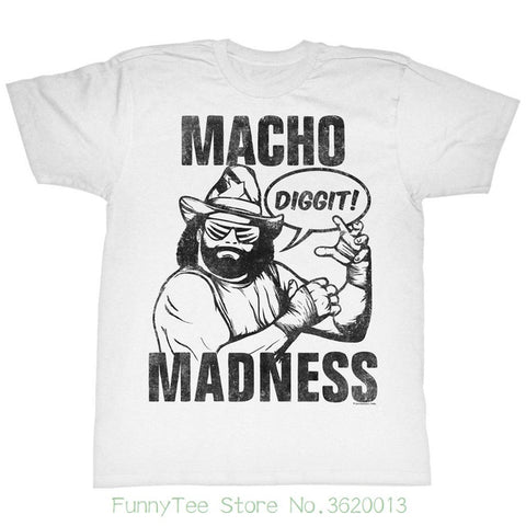 Macho Man Randy Savage Wrestling T-shirt
