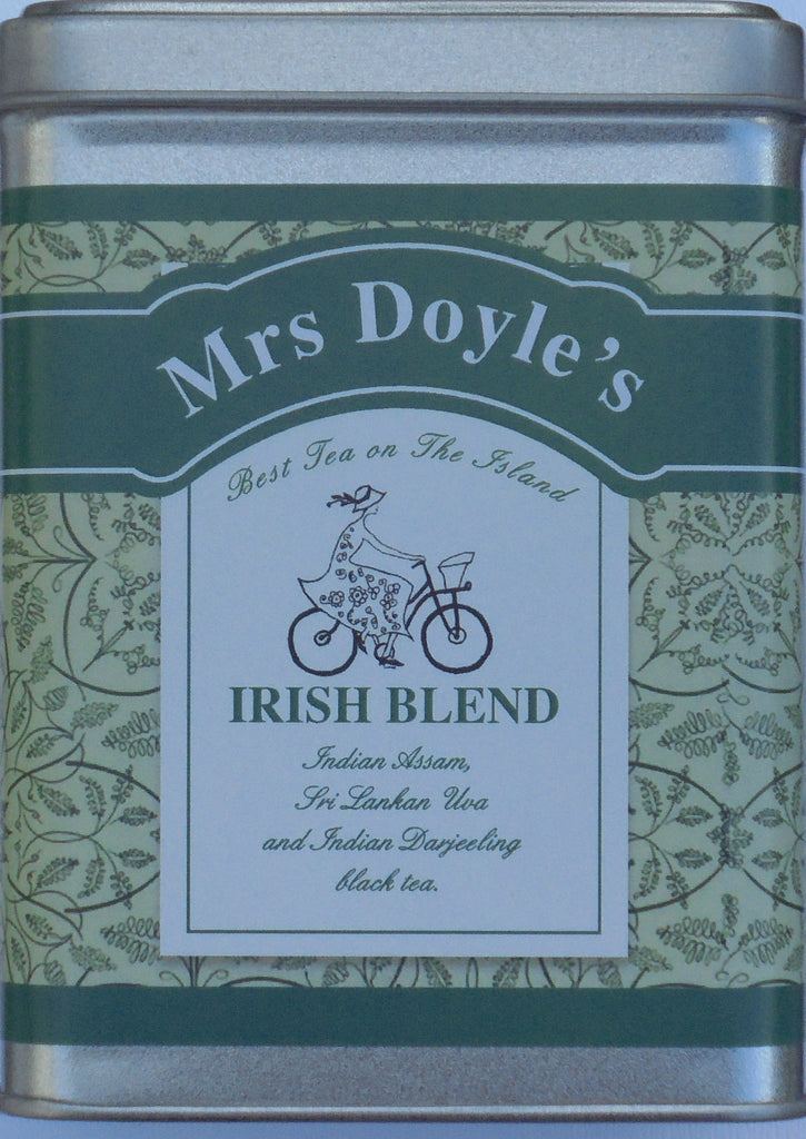 Mrs Doyle's range of loose leaf Black teas range from Happy Valley Darjeeling tea, English Breakfast tea, Irish Breakfast tea, Earl Grey tea