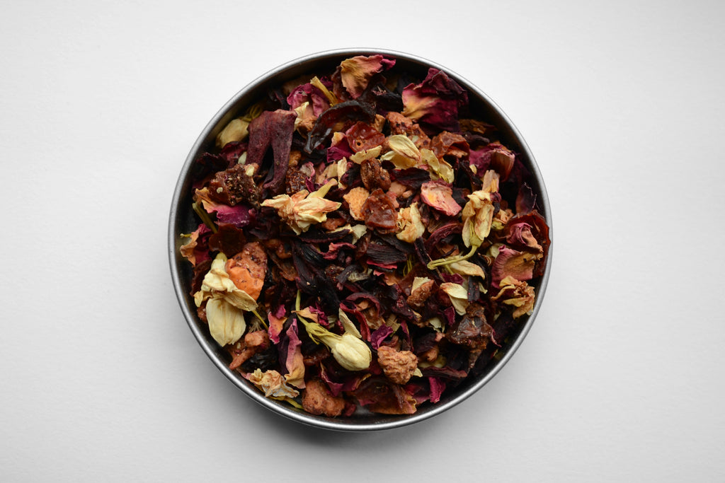 loose leaf Herbal teas and infusions ethically sourced by Irelands Mrs Doyle