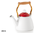 LITTLE WHITE  ENAMEL KETTLE
