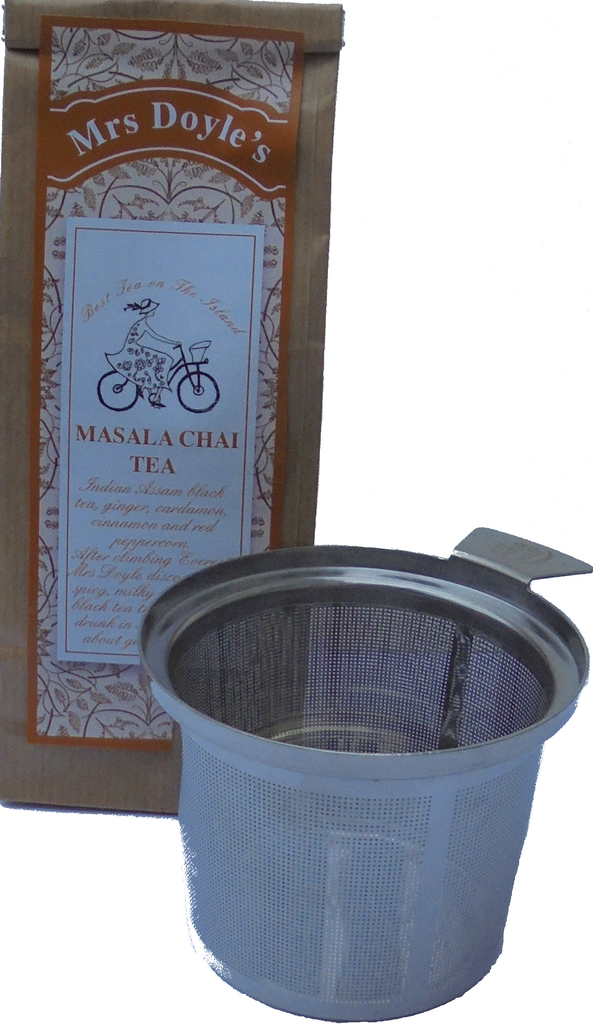 Tea Cup Filter with Pack of Chai Tea gift set