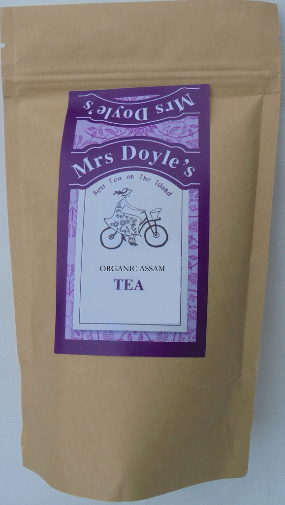 Mrs Doyle's Organic Assam Loose Leaf Tea from the  Hathikuli Estate  in Assam , India