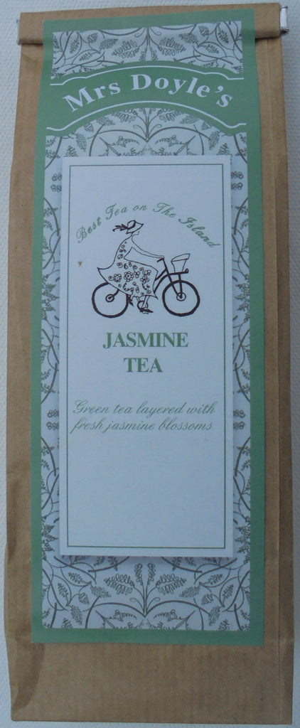 Mrs Doyle's loose leaf Organic Green tea with Jasmine blossoms