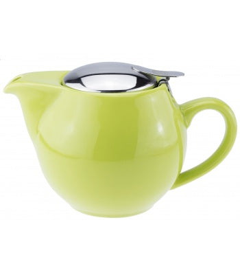 Mrs Doyle Little Green Tea Pot with filter , it's ceramic & dishwasher safe