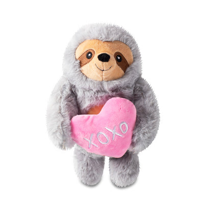 Hugs & Kisses Sloth Plush Dog Toy