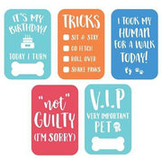 Pet Milestone Photo Sharing Cards
