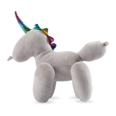 Unicorn Balloon Animal Plush Dog Toy