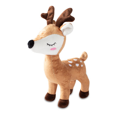 Deer with Antlers Dog Toy
