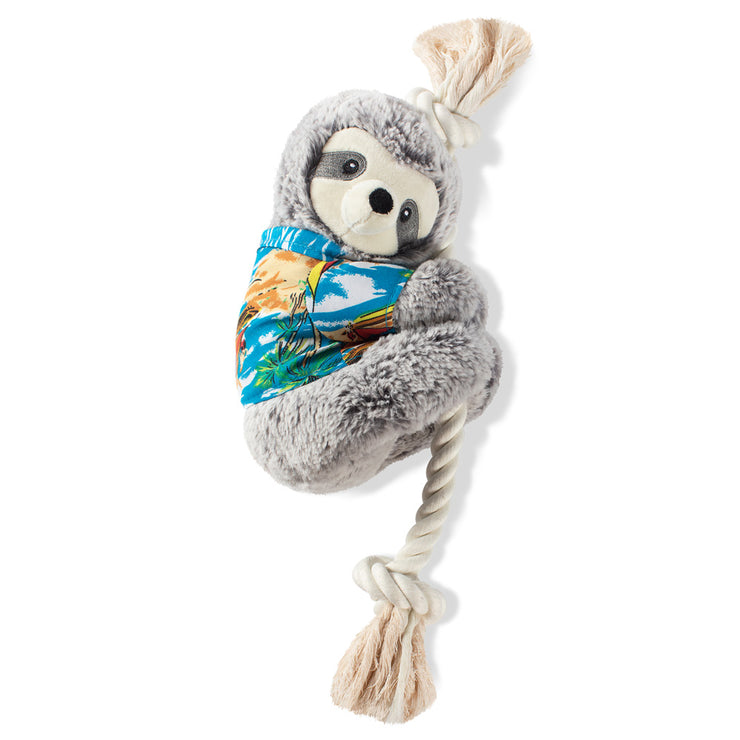 Slowin' Down For Summer Sloth Dog Toy