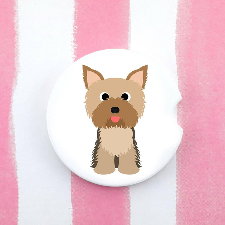 Car Coaster - Yorkshire Terrier