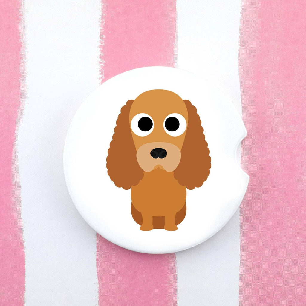 Car Coaster - Cocker Spaniel Car Coaster