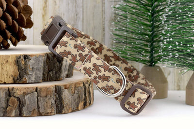 Gingerbread Dog Collar