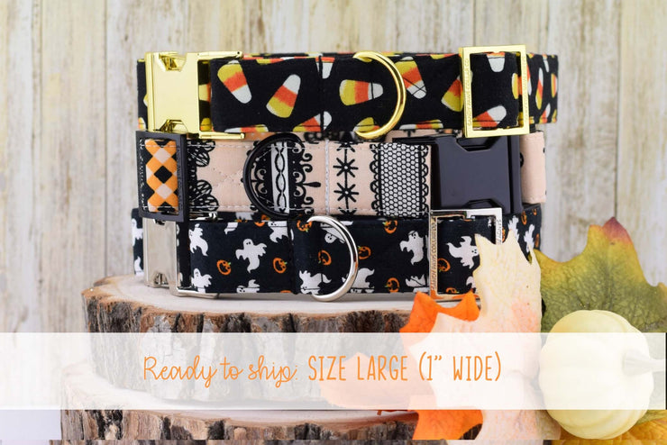 Dog Collar - Fall/Halloween Dog Collar