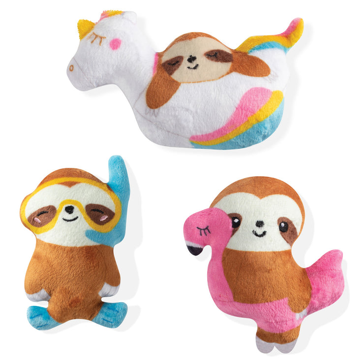 Summer Sloths Toy Set - Mini