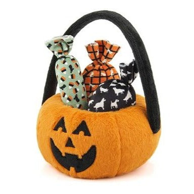 Trick or Treat Basket Dog Toy