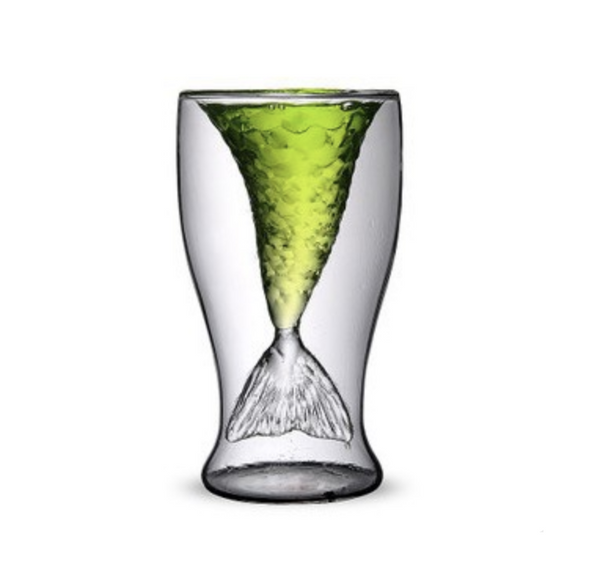 Mermaid Double Shot Glass - Slackwater Cove