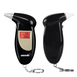 Keychain Breathalyzer with LCD Display - Slackwater Cove
