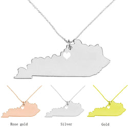 Kentucky Charm Necklace - Slackwater Cove