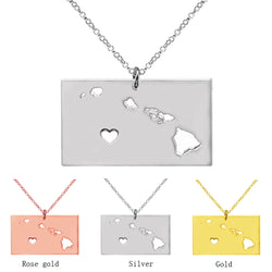 Hawaii Charm Necklace - Slackwater Cove