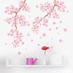 Cherry Blossom Wall Decor PVC Sticker - Slackwater Cove