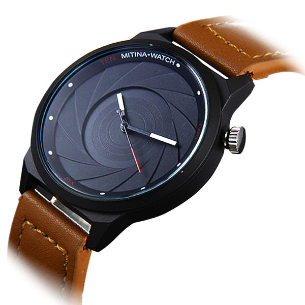 Camera Lens Watch - Slackwater Cove